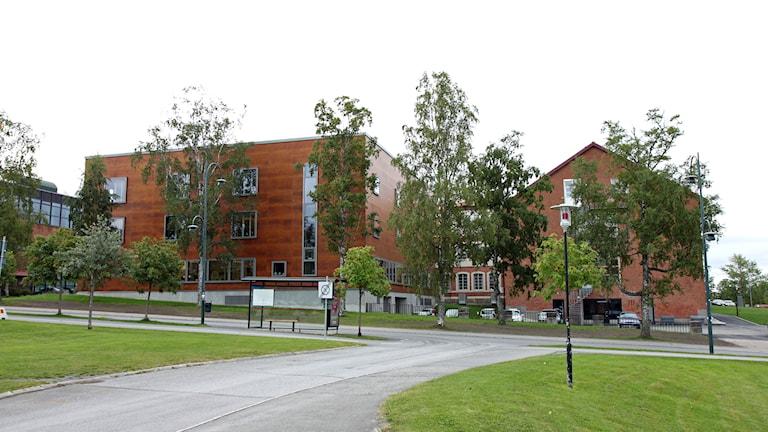 Jämtlands Gymnasium. Foto: Janne Mårdberg/Sveriges Radio.