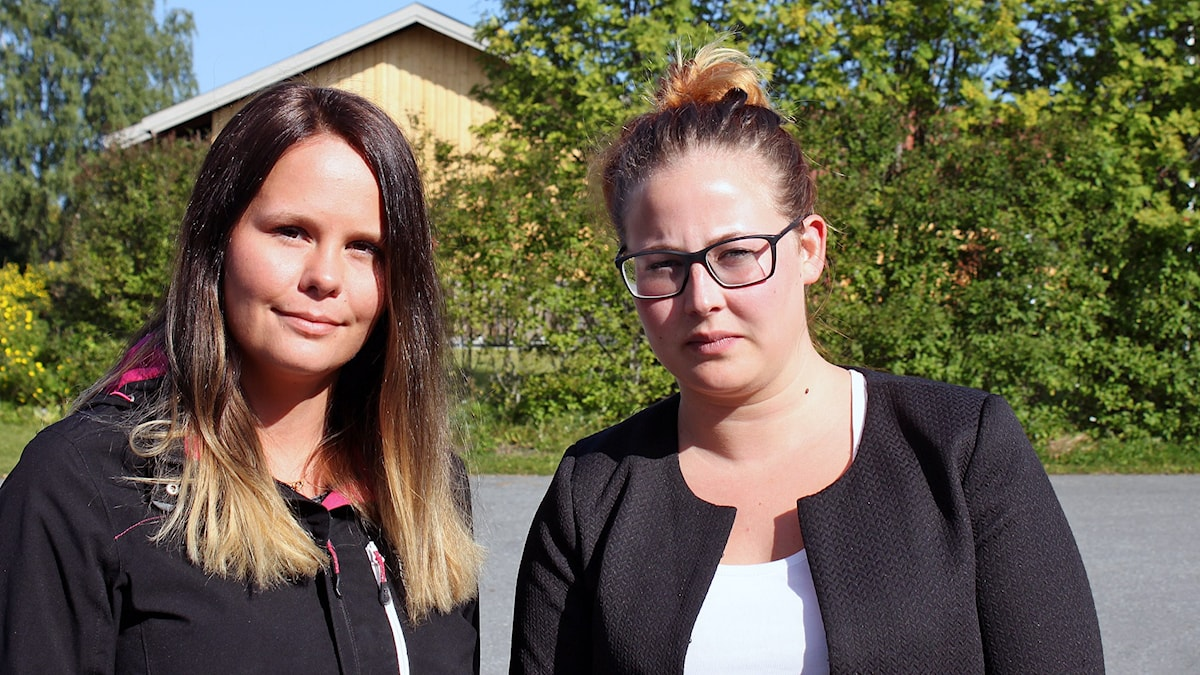 Emelie Dillner och Emelie Adebåge Foto :Anneli Johansson/Sveriges radio