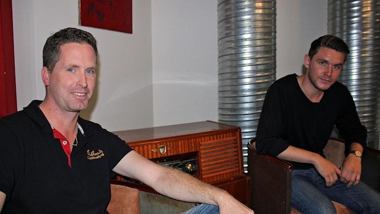 Ronny Hopstadius och Luke Byrne, Jämtlands auktionsbyrå