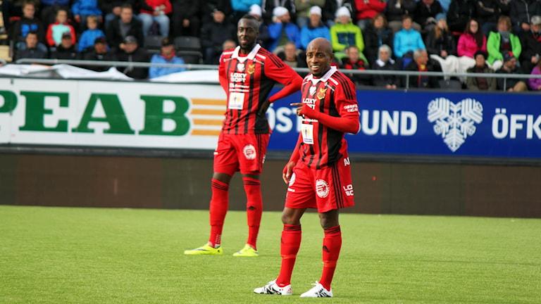Fouad Bachirou och Ronald Mukiibi