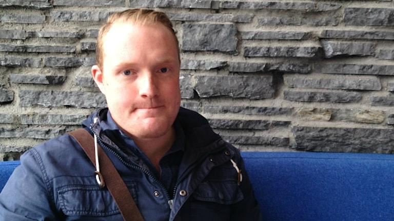 Niklas Daoson, Barn & Utbildningsnämndens ordförande i Östersunds Kommun. Foto: Anders Mellgren/Sveriges Radio