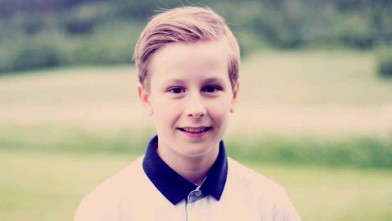 Nils Lindström elevrådsordförande på Anders Olofs skolan i Ragunda kommun.