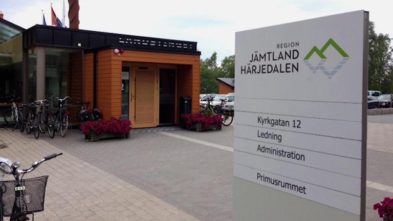 Region Jämtland Härjedalen. Foto: Pernilla Anth Jacobsson/Sveriges radio.