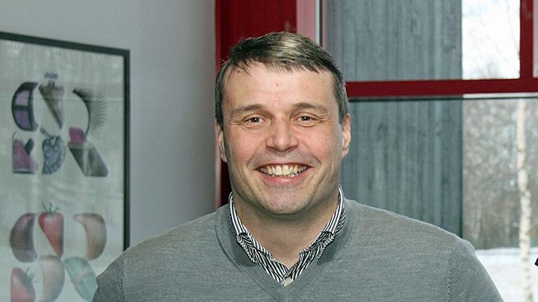 Daniel Kindberg, ordförande ÖFK Foto:Anneli Johansson/Sveriges Radio