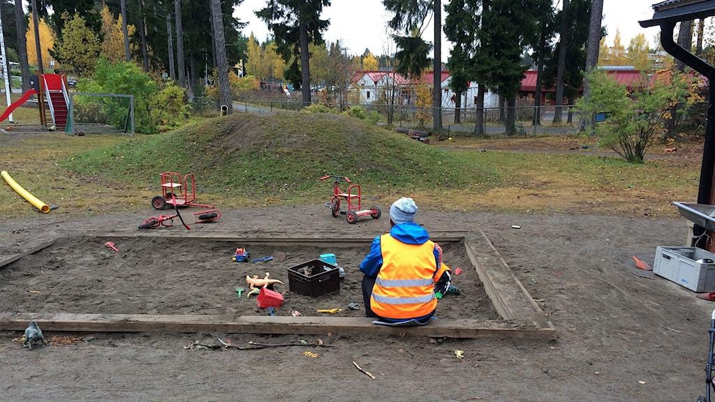 Ottfjällets förskola i Östersund. Foto Staffan Andersson