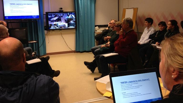 120 personer i länet utbildar sig just nu till gode män. Foto: Peter Söderlund/Sveriges Radio.