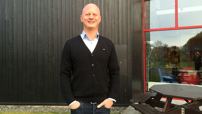 Martin Sahlberg vd OSD. Foto Ann-Louise Rönestål Ek/Sveriges radio.