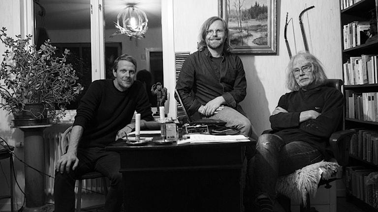 Från vänster: Bobo Ohlsson, Peder Edvinsson, Clas Källander.