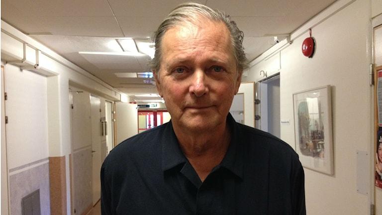 Staffan Sylwan, smittskyddsläkare vid Östersunds sjukhus, råder människor att vaccinera sig i god tid. Foto: Peter Söderlund/Sveriges Radio
