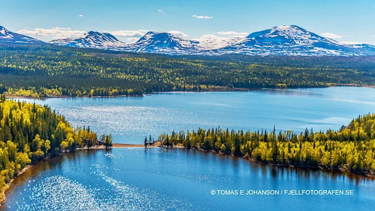 Fjäll - Ånnsjön och Snasahögarna . Foto: Tomas Johanson