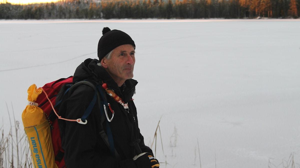 Jan Molde, långfärdsskridskor, is, vinter