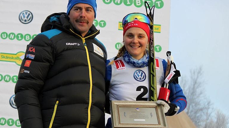 Rikard Grip och Stina Nilsson