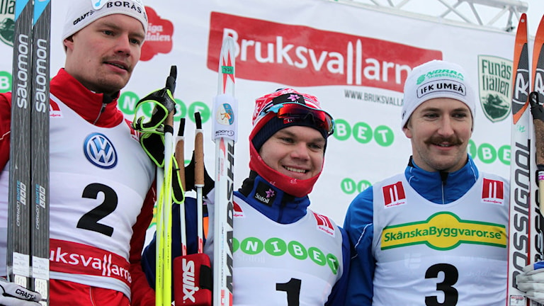 Karl-Johan Westberg, Håvard Taugböl och Teodor Peterson