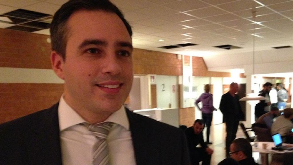 Jorge Concha, försvarsadvokat, imam, Strömsund