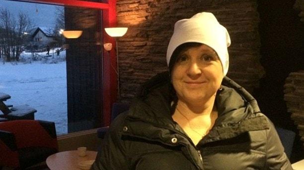 Angelica Mattiasson, förskollärare. Foto: Simon Gunnholt/Sveriges radio.