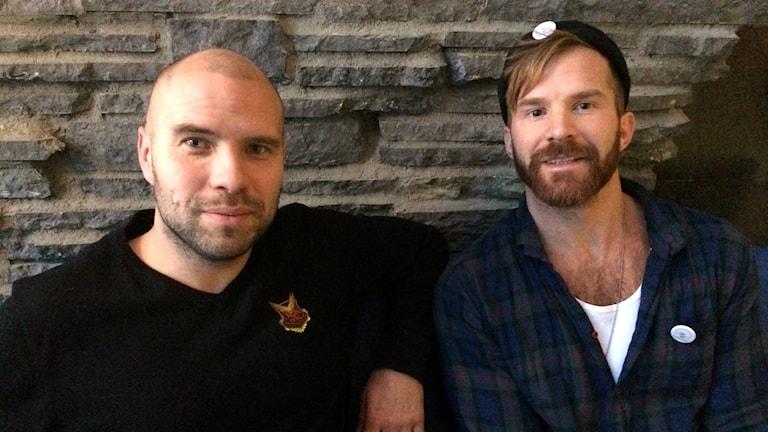 Huskurage, Peter Svensson från Huskurage, Martin Johansson från ÖFK