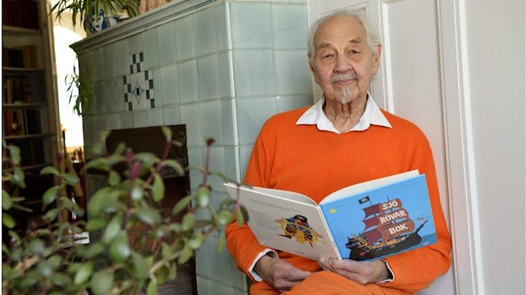 Lennart Hellsing, en folkkär ordlekare. Foto: Henrik Montgomery/ TT