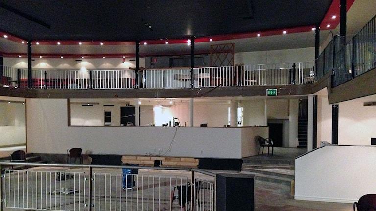 Gamla nattklubbslokalen byggs om till en ny mötesplats i Östersund Foto: Anders Mellgren/Sveriges Radio