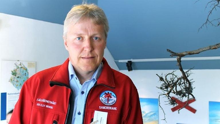Per-Olov Wikberg, Naturvårdsverket. Foto: Alexander Linder/ Sveriges Radio.