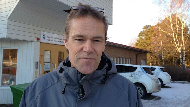 Lars Liljedahl, vård- och omsorgschef i Östersunds kommun. Foto: Peter Söderlund/Sveriges Radio