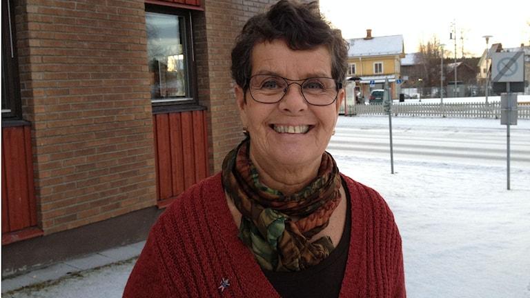Kajsa Eklund, verksamhetschef för grundskolan i Krokoms kommun. Foto: Peter Söderlund/Sveriges Radio
