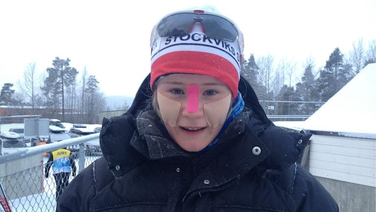 Alicia Persson, Stockvik. Foto: Peter Söderlund/Sveriges Radio.