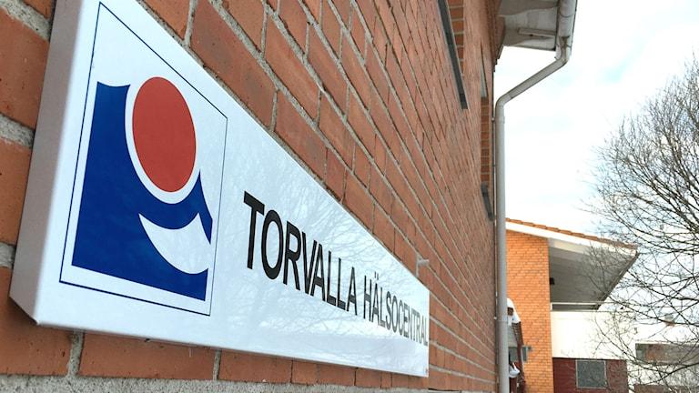 Torvalla hälsocentral.