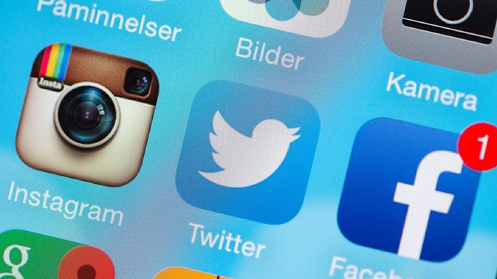 Sociala medier - Instagram Twitter Facebook
