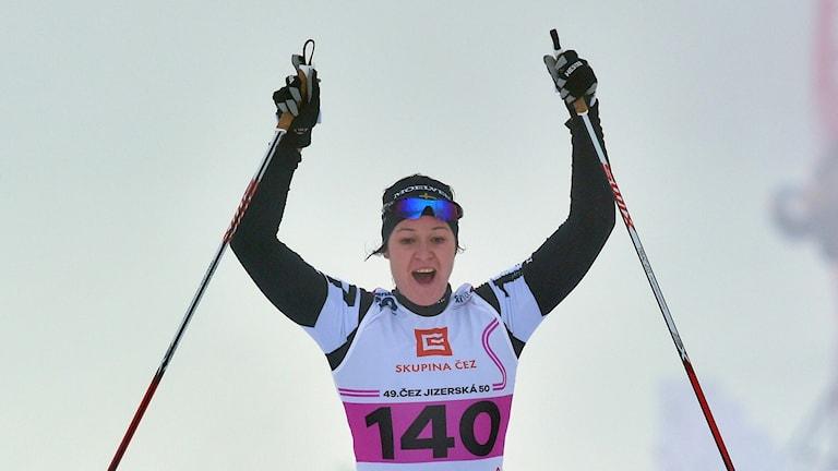 Britta Johansson Norgren. Foto: Radek Petrasek/TT.
