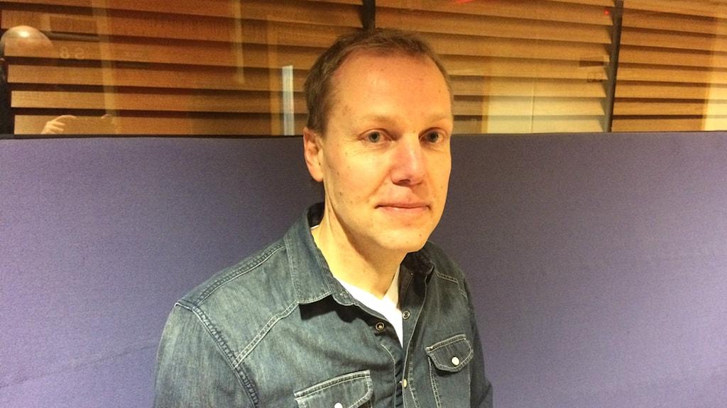 Johan Andersson är projektledare inom offentlig gastronomi i Jämtland/Härjedalen