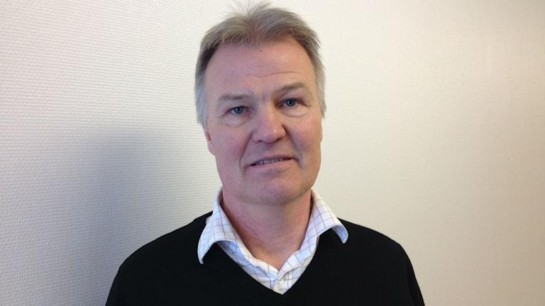Tomas Blom, skolchef i Ragunda kommun. Foto: Peter Söderlund/Sveriges Radio.