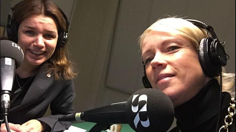riksdagsledamöter AnnaCaren Säther och Saila Quiklund