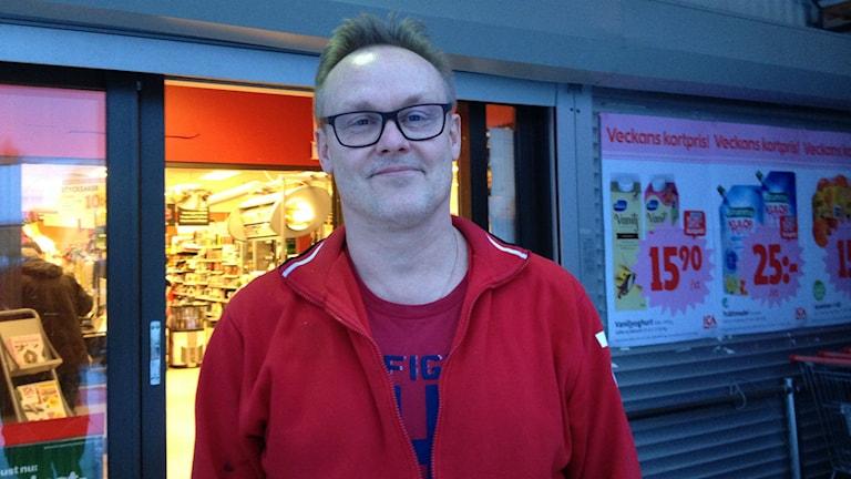 Mikael Lindberg, Backe. Foto: Peter Söderlund/Sveriges Radio.