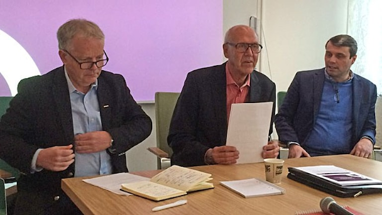 Presskonferens fastighetsaffär Östersundshem