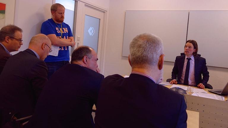 Exekutiv auktion av Backe sjukhus hos Kronofogden i Östersund