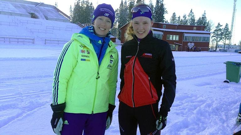 Anna-Maria Nilsson och Hanna Öberg