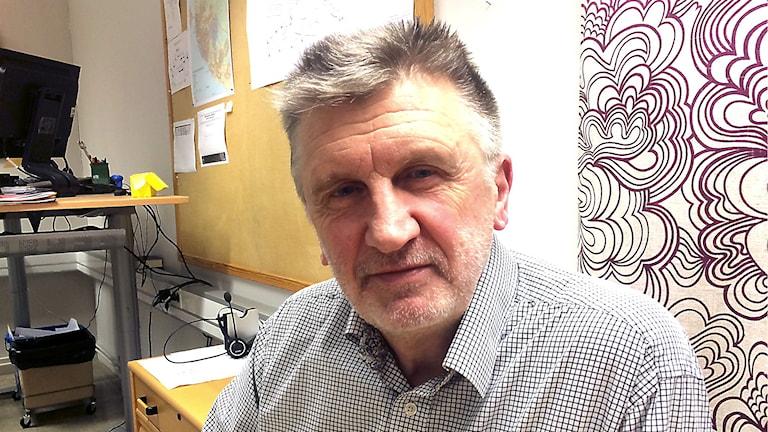 Kolbjörn Rydén, VA-chef Östersund. Foto: Filip Gustafsson Högman/SR