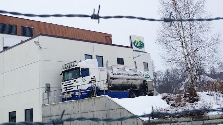 Arlas mejeri i Östersund.