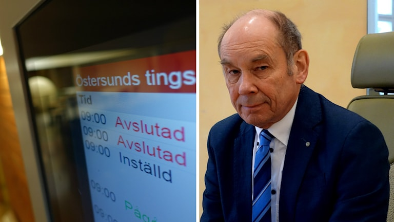 Inställda rättegångar på Östersunds tingsrätt