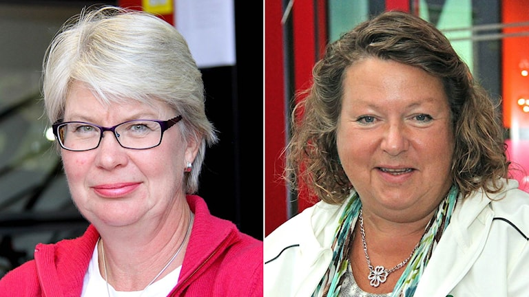 Ann-Marie Johansson (S) + Eva Hellstrand (C)