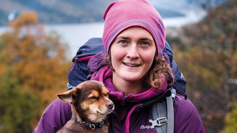 Lina Hallebratt från Trångsviken. Årets kvinnliga äventyrare 2015. Foto: Maria Månsson