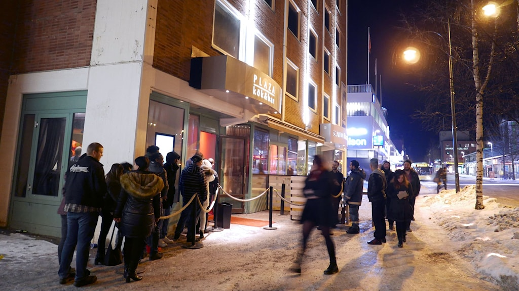 Många tjejer som P4 Jämtland träffade under fredagskvällen kände sig otrygga.