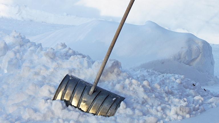 Kanske dags att plocka fram snöskyffeln.