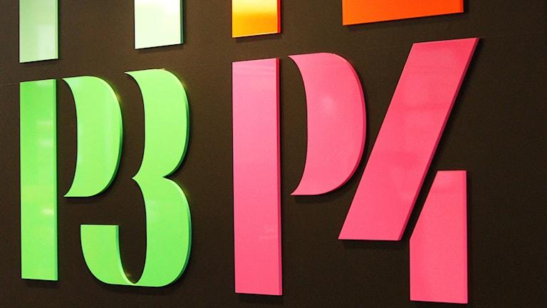 Logotyper för P3 och P4