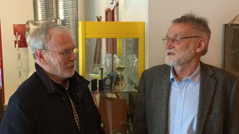 Lars H Söderlund och Per Hedman
