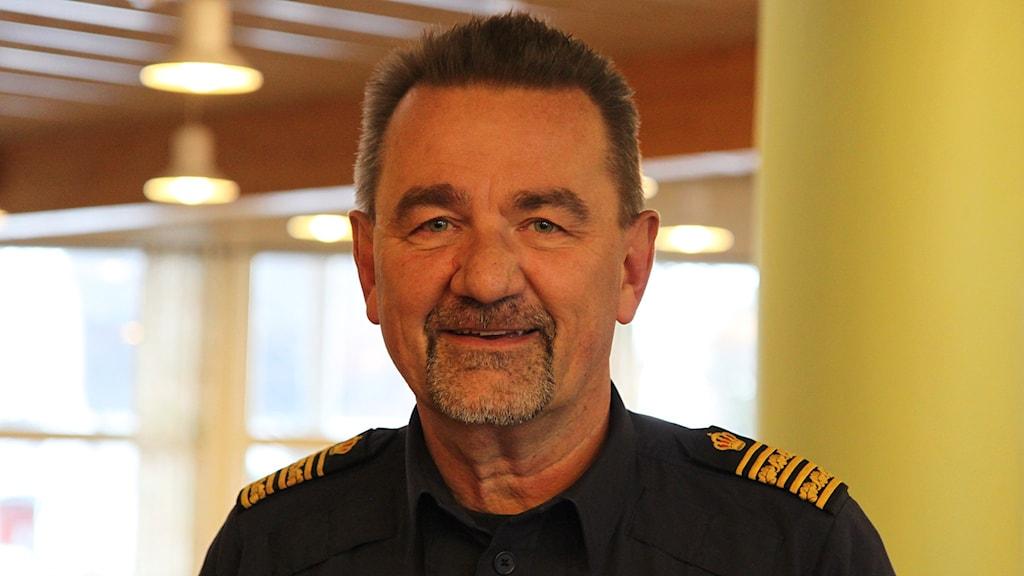 Stephen Jerand -  polisområdeschef i Jämtlands län