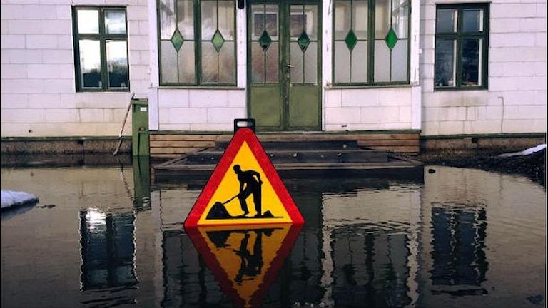 Översvämning i Pilgrimstad