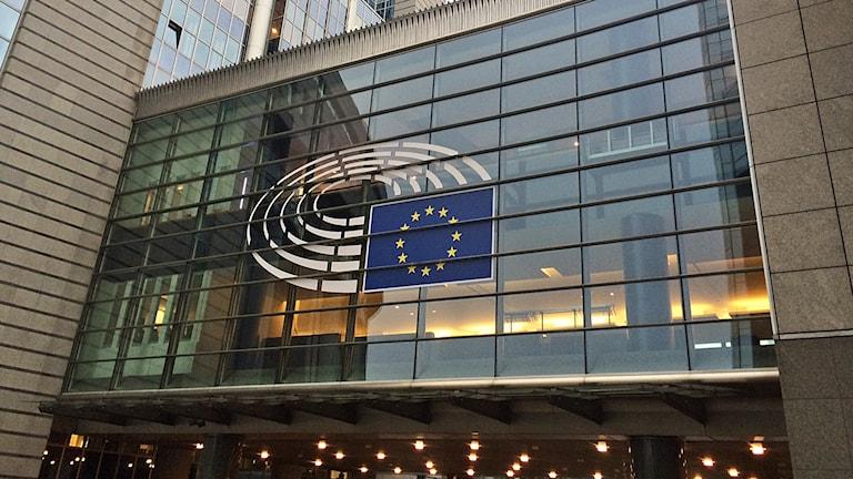EU-parlamentet exteriör