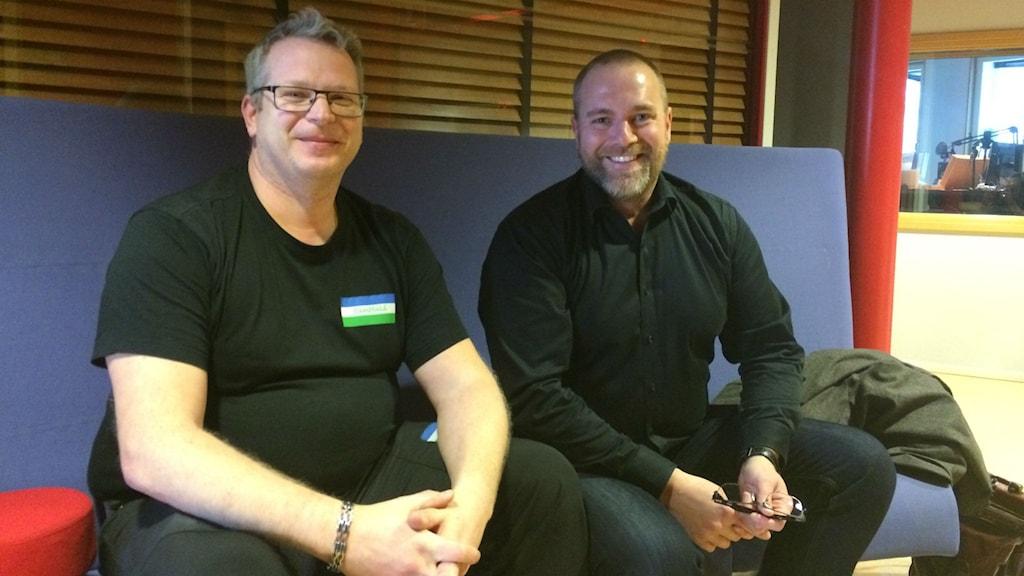 Torbjörn Rinzén och Anders Wennerberg
