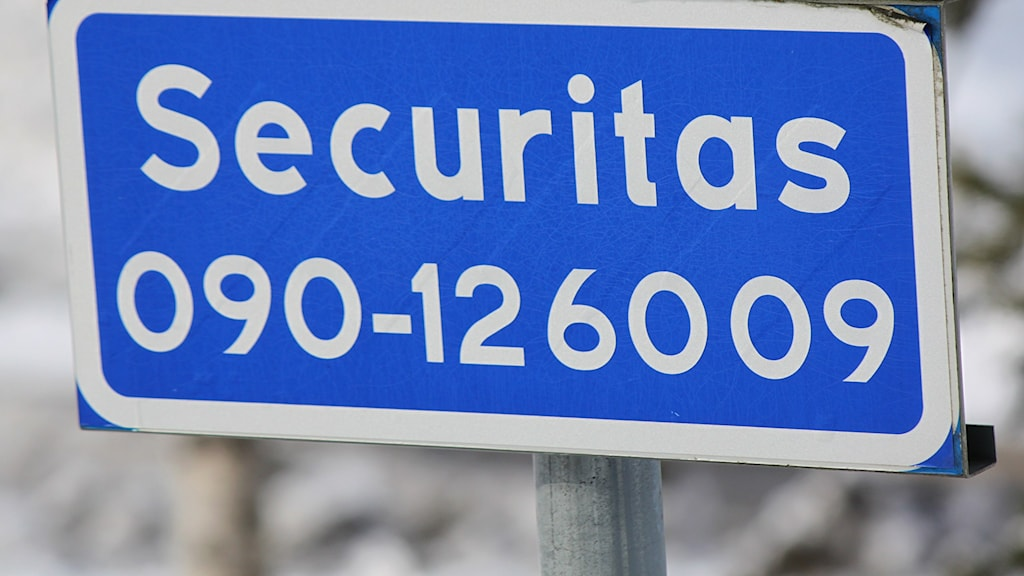 Skylt Securitas